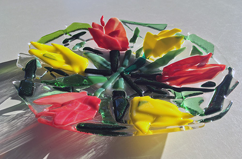 Schaal Sietske Osinga glasfusen