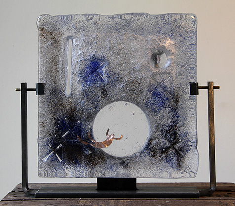Object glaskunst Jan Hooghiemstra