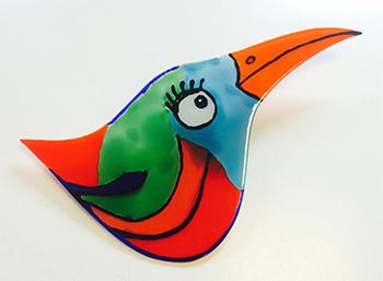Workshop Vrolijke Vogel Sietske v Houten