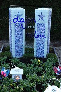 Grafsteen Dajon Milou